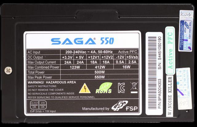 FSP Saga 550w