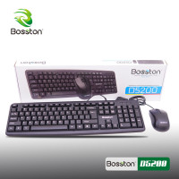 Combo Keyboard , Mouse Bosston D5200